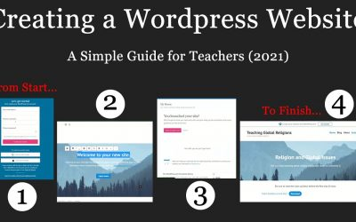 Do It Yourself – Tutorials – Creating a WordPress Website – A Simple Guide for Teachers (2021)