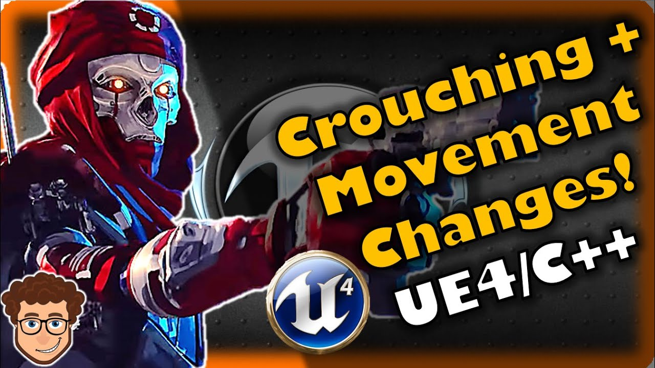 Crouching + Adjusting Movement! | How To Make YOUR OWN FPS! | Unreal and C++ Tutorial, Part 15