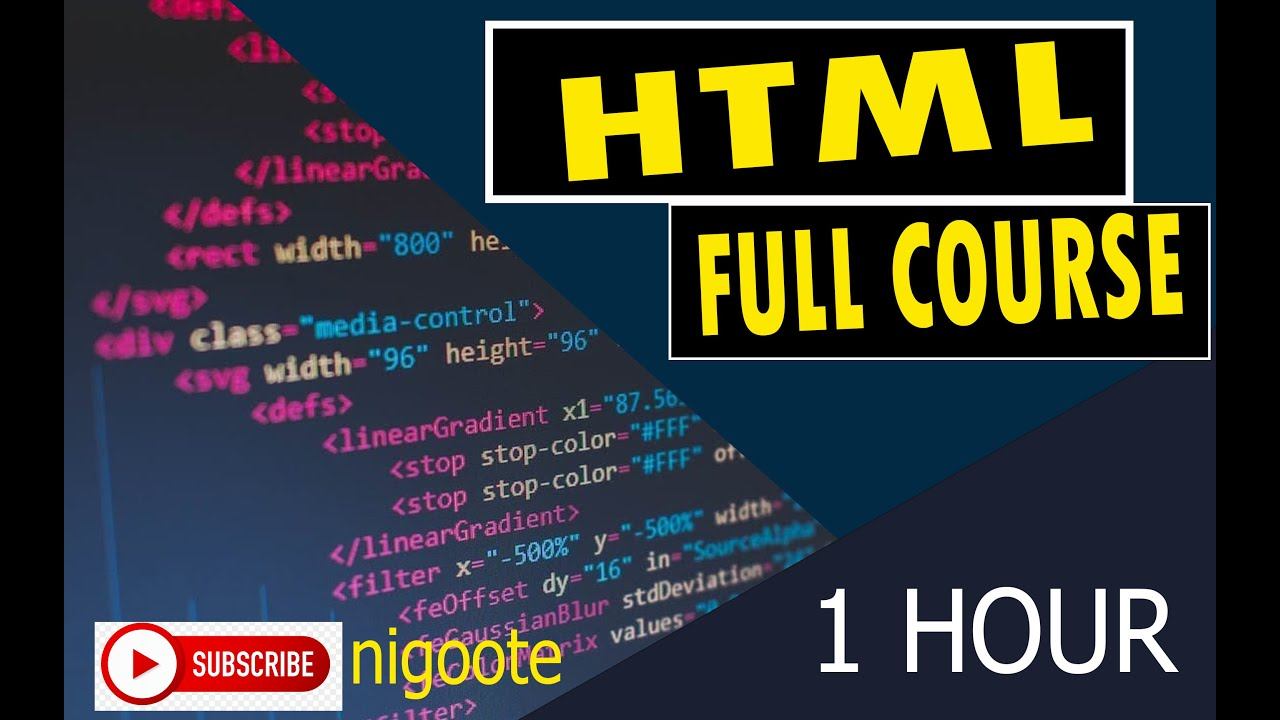 HTML Full Course for Beginners [2021] - Build a Website Tutorial