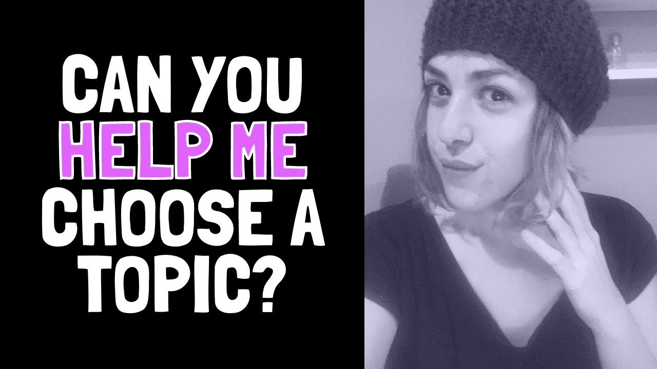 Help me choose a TOPIC for the Free Website tutorial on the 29th!