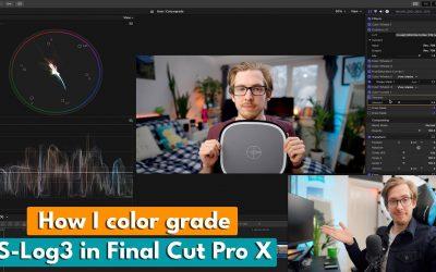 Do It Yourself – Tutorials – How I Color Grade My Videos! | S-Log 3 Final Cut Pro X Tutorial