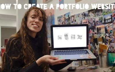Do It Yourself – Tutorials – How to Create a Portfolio Website | Building My Online Portfolio Step by Step!