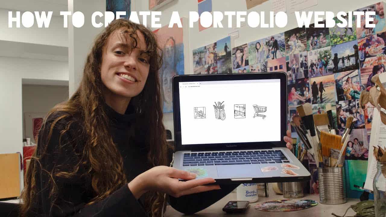 How To Create a Portfolio Website | ARTIST Website Tutorial!
