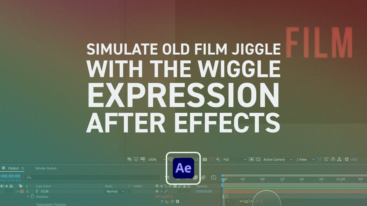 How to Create Old Film Wiggling/Twitching in After Effects