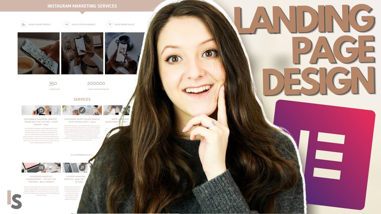 How to Design a Landing Page with Elementor - Elements any Freelance Landing Page Should Have