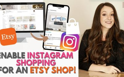 Do It Yourself – Tutorials – How to Enable Instagram Shopping for your Etsy Shop without your Own Website! Step by Step Tutorial