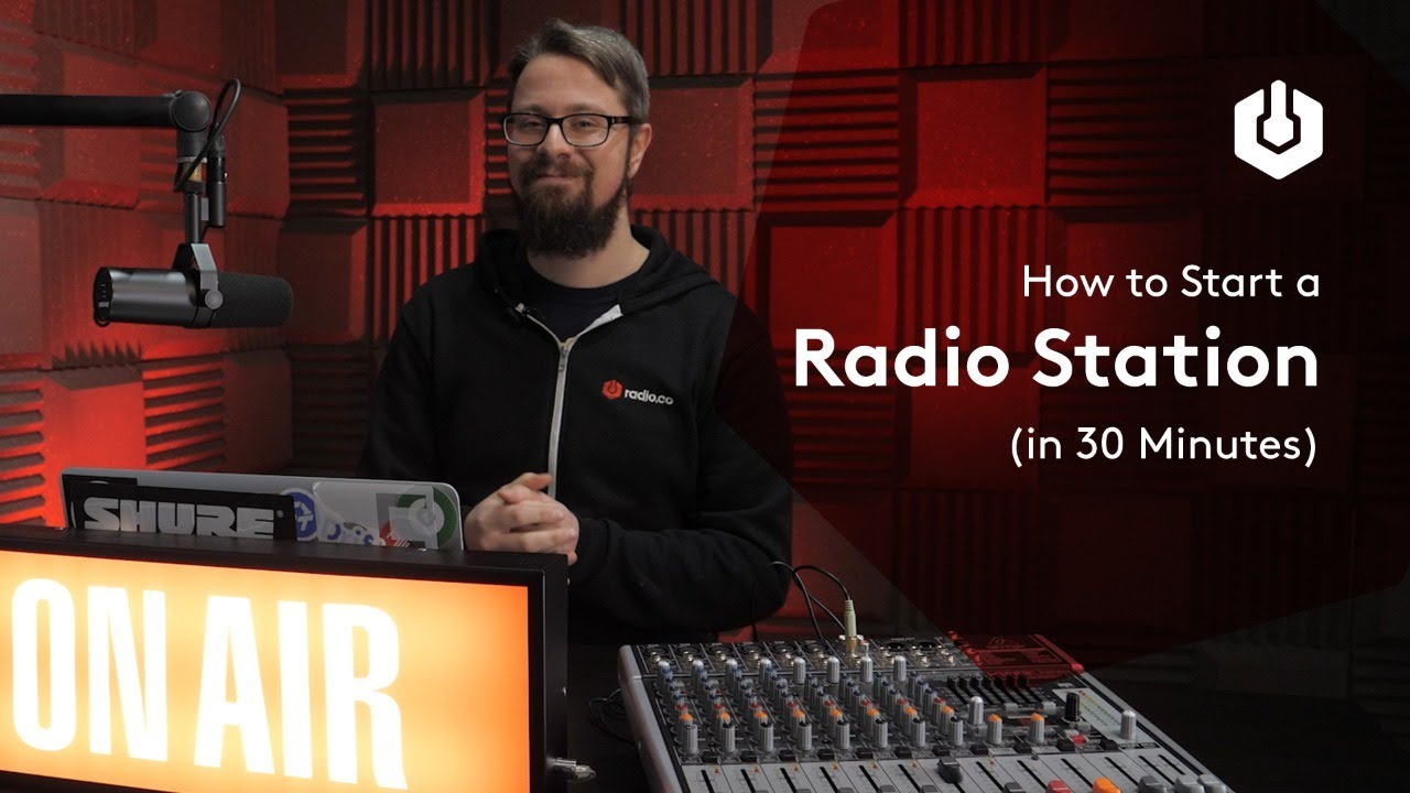 How to Start a Radio Station in 30 Minutes | Radio.co Demo