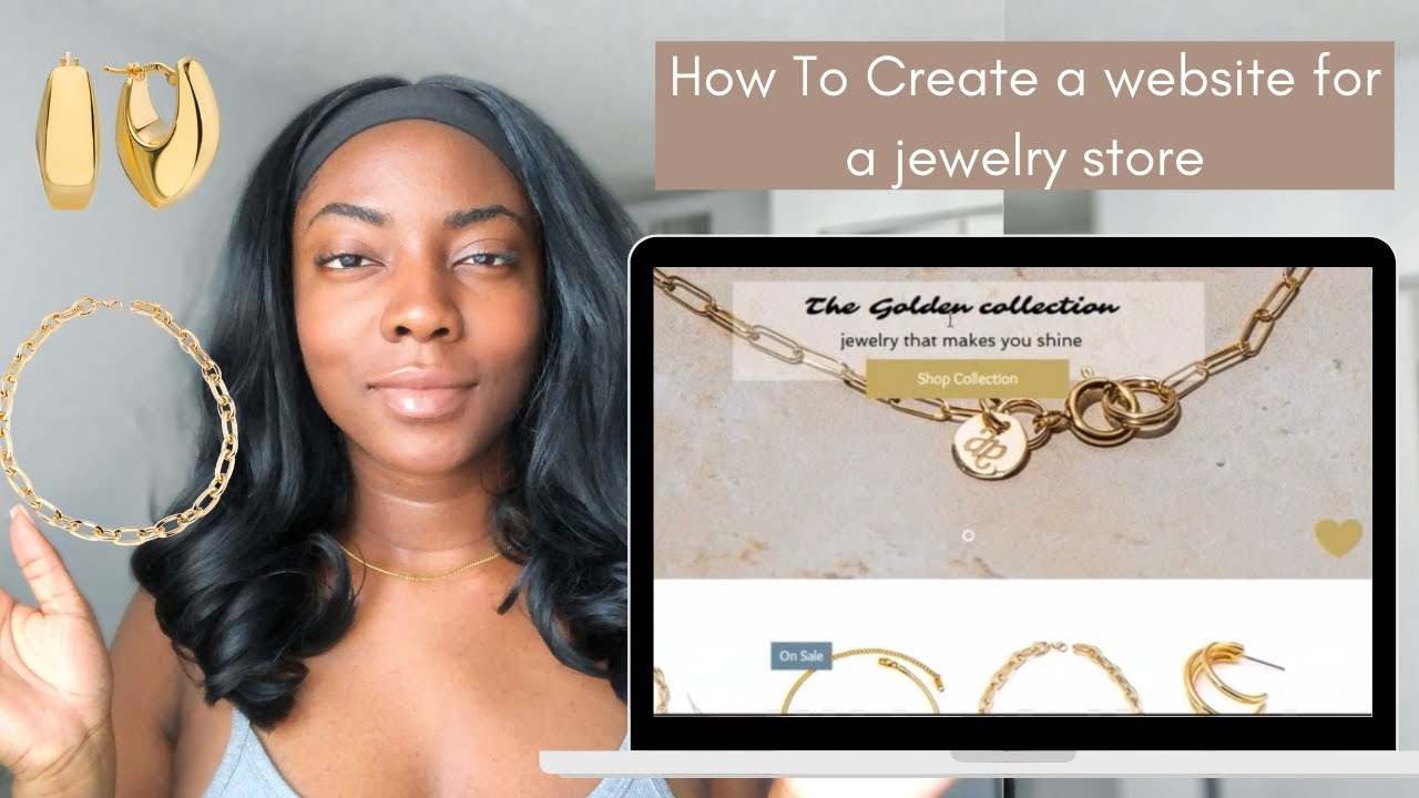 How to create an online store for jewelry business| How to start a Jewelry business