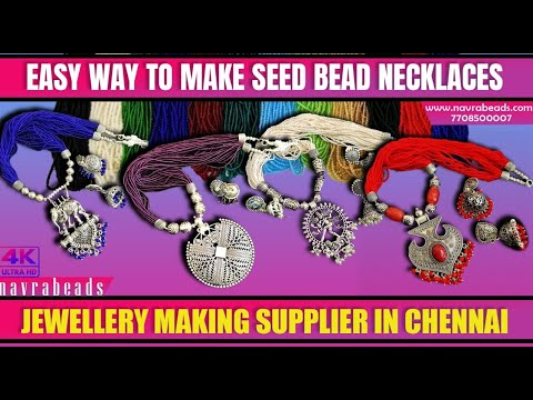 How to make seed beads necklaces | DIY Necklaces | Basic Jewellery Making Tutorials