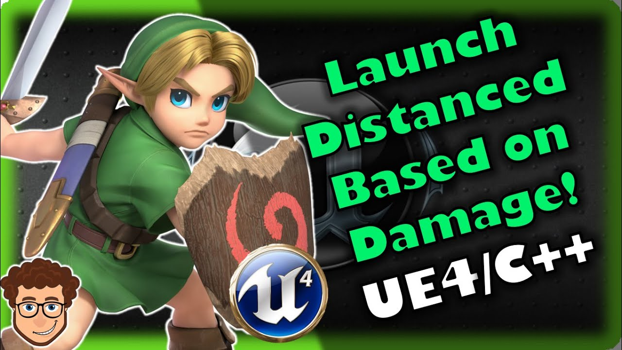Knockback/Launch Based on Damage! | How To Make YOUR OWN SSB Game | Unreal and C++ Tutorial, Part 18