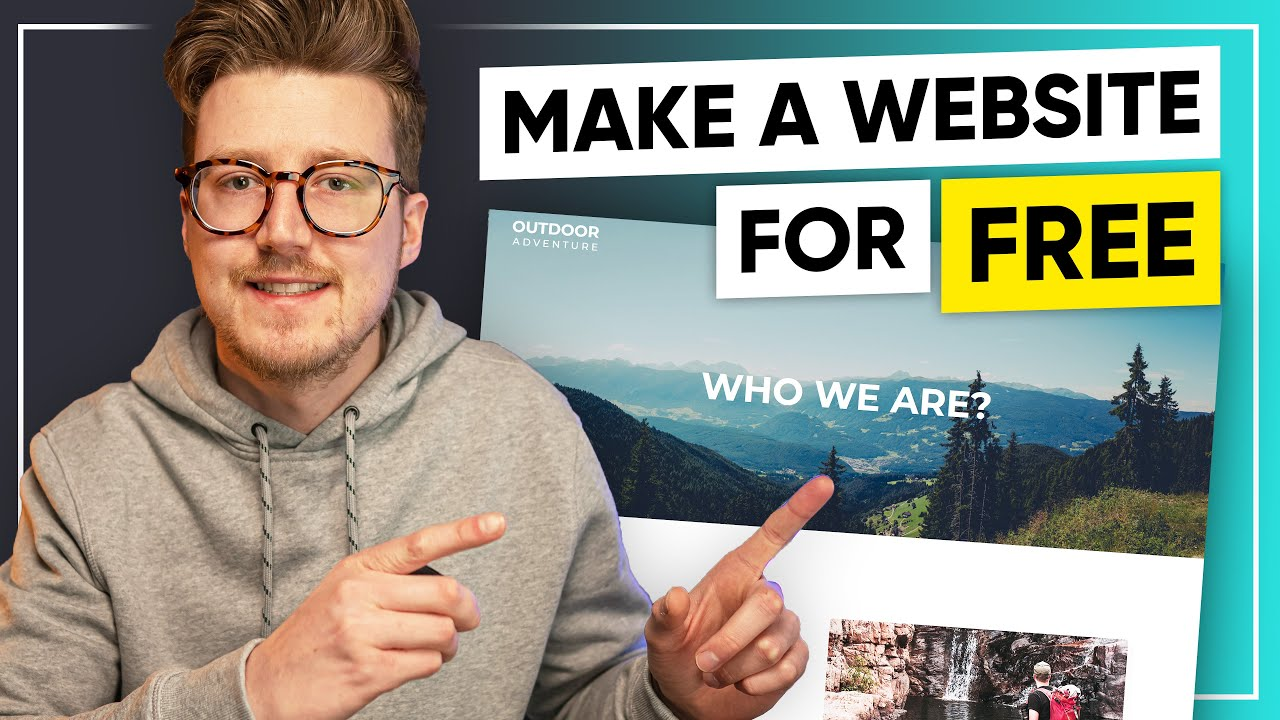 Learn How To Make a Website For Free