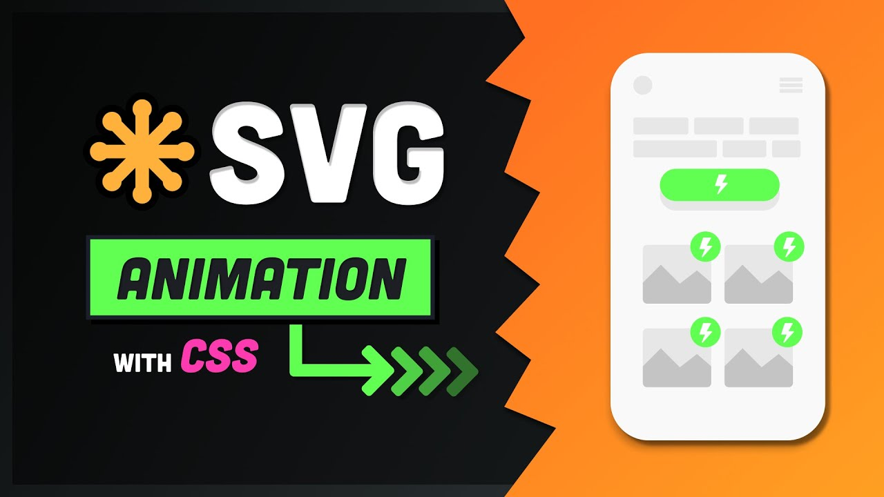 Make Awesome SVG Animations with CSS // 7 Useful Techniques