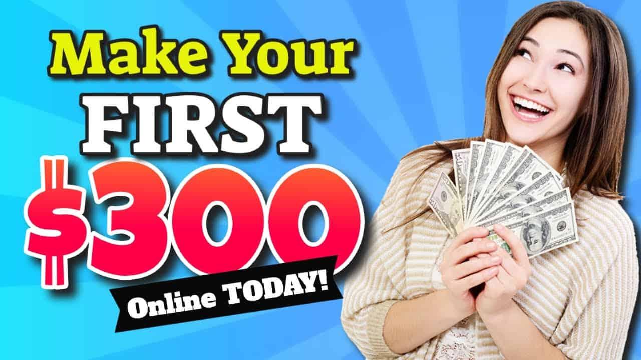 Make Money Online Today! Make $300 Drag & Drop Easy - Full Tutorial