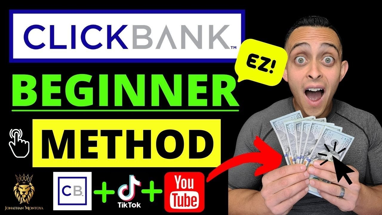 Make Money on ClickBank WITHOUT a Website  - BEGINNER Method