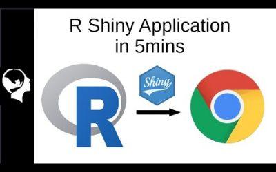 Do It Yourself – Tutorials – Make a Web App in 5 min | R Shiny Tutorial