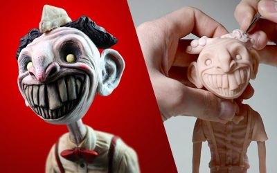 Do It Yourself – Tutorials – Making Up MY OWN Little Nightmares Character – Meet 'The Ice Cream Man'…
