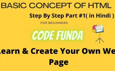 Do It Yourself – Tutorials – Part#1 HTML tutorial for beginners step by step | learn and create your website | Concept of HTML