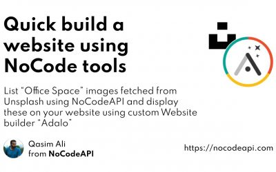Do It Yourself – Tutorials – Quickly build a website using NoCode tools
