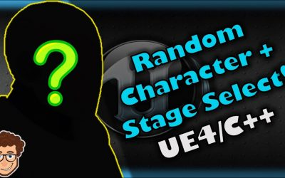 Do It Yourself – Tutorials – Random Character/Stage Select! | How To Make YOUR OWN Fighting Game! | UE4 and C++ Tutorial, Part 59