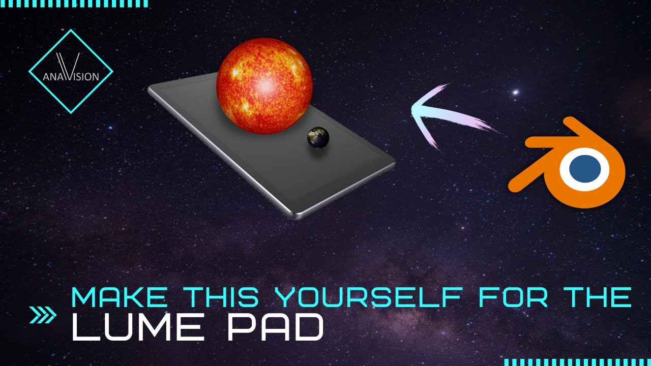 Tutorial: Make your own 3D model in Blender for the Leia Lume Pad Lightfield Tablet