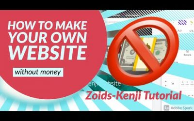 Do It Yourself – Tutorials – [Zoids-Kenji Tutorial] Make your own website without money