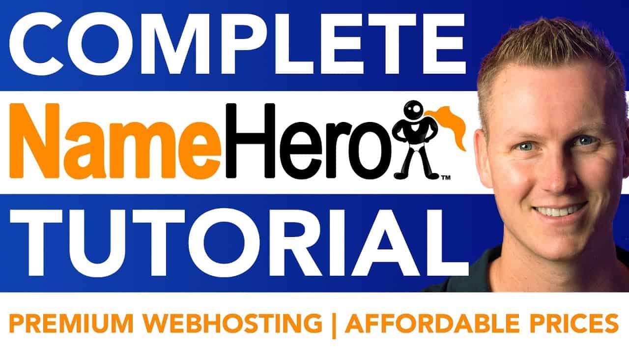 Complete NameHero Tutorial | Wordpress Webhosting 2021