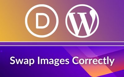 WordPress For Beginners – Divi Theme Tutorial: How to Replace Images Correctly in WordPress