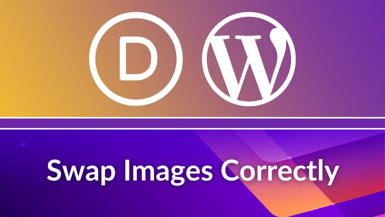 Divi Theme Tutorial: How to Replace Images Correctly in WordPress