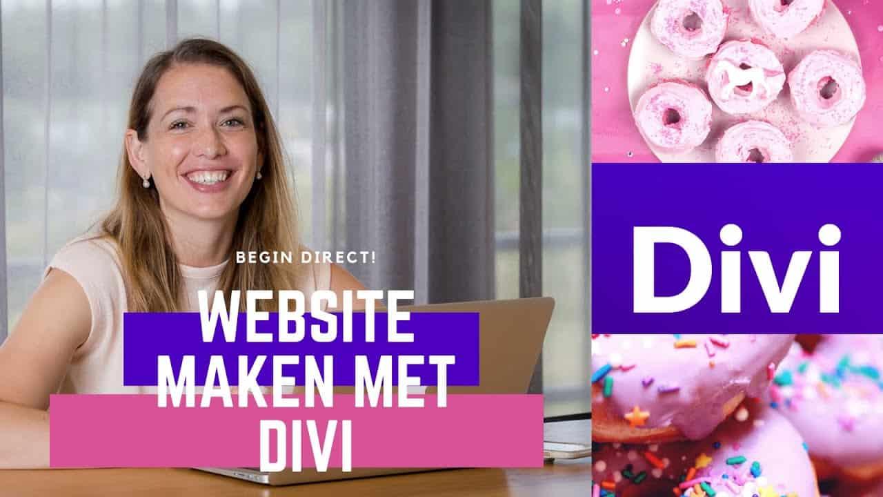 Divi Tutorial voor beginners Nederlands   Divi en Wordpress website maken binnen een uur!