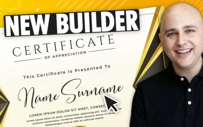 WordPress For Beginners – How To Build Certificates With The New LearnDash Certificate Builder – WordPress Online Courses