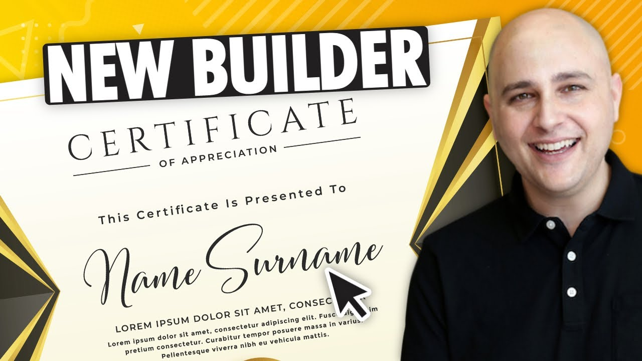 How To Build Certificates With The New LearnDash Certificate Builder - WordPress Online Courses