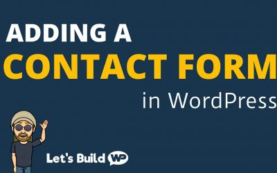 WordPress For Beginners – How to Add a Contact Form in WordPress (WPForms)