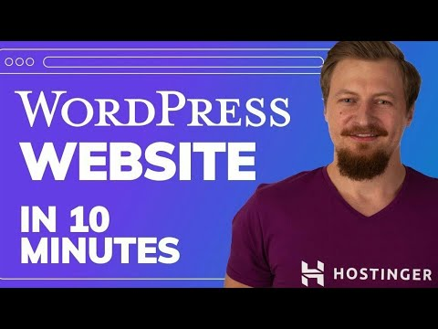 How to Create a WordPress Website in 10 Minutes Using Hostinger | Worlds Cheapest Hosting and Domain