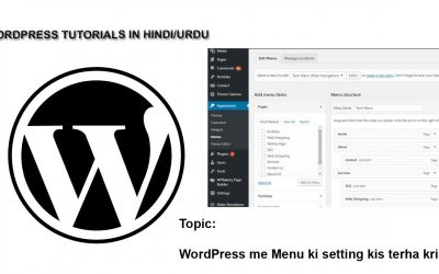 WordPress For Beginners – How to Setup WordPress Menu in Default and Paid Themes?