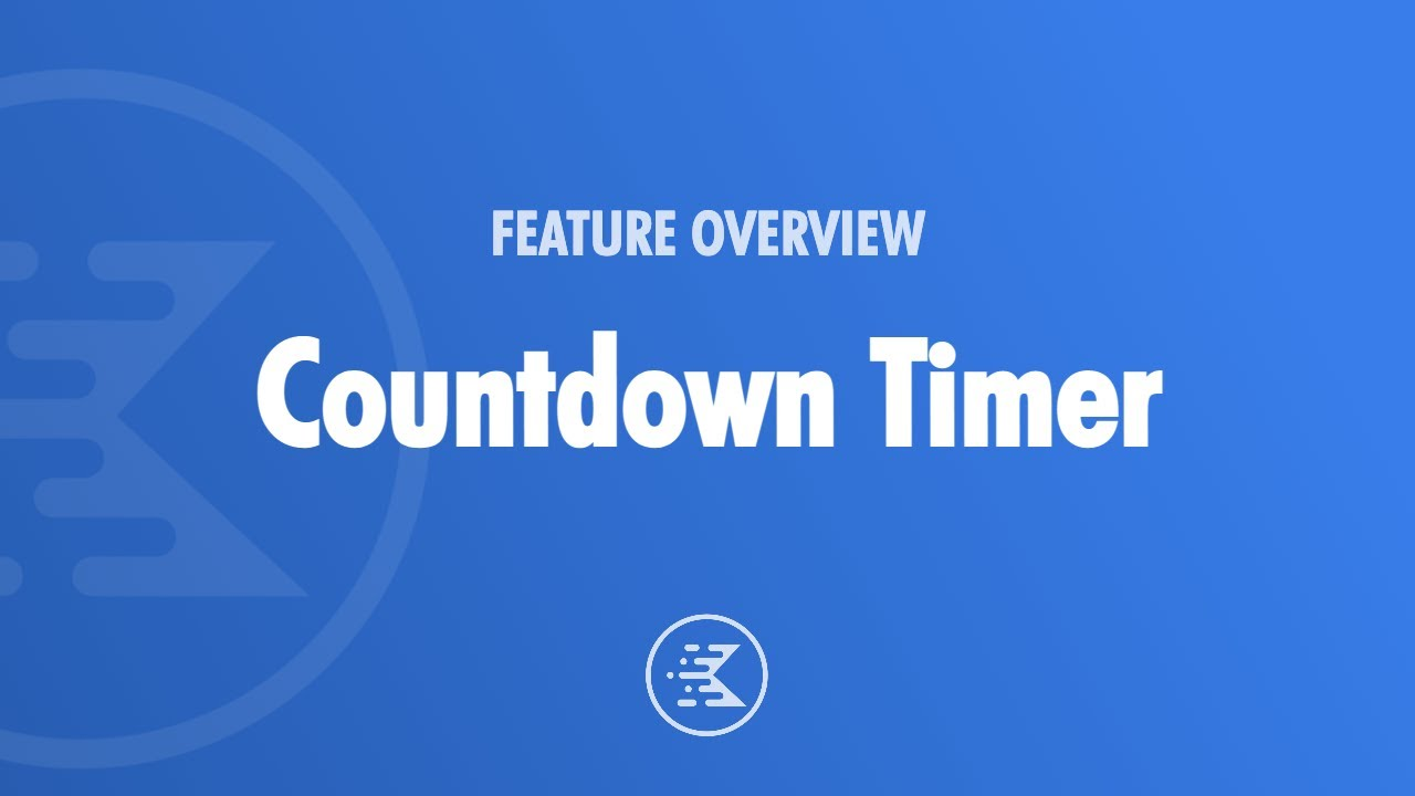 Introducing Countdown Timer For Gutenberg & WordPress With Evergreen