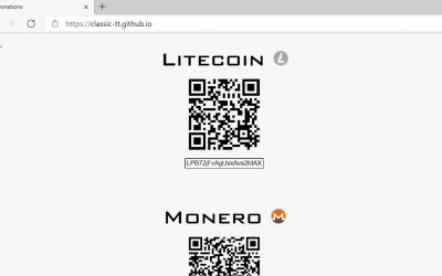 Do It Yourself – Tutorials – How to Make your own website for crypto Donations (free)