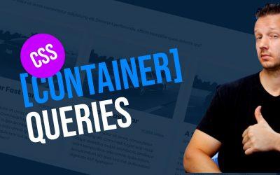 CSS Container Queries Tutorial – #FutureCSS