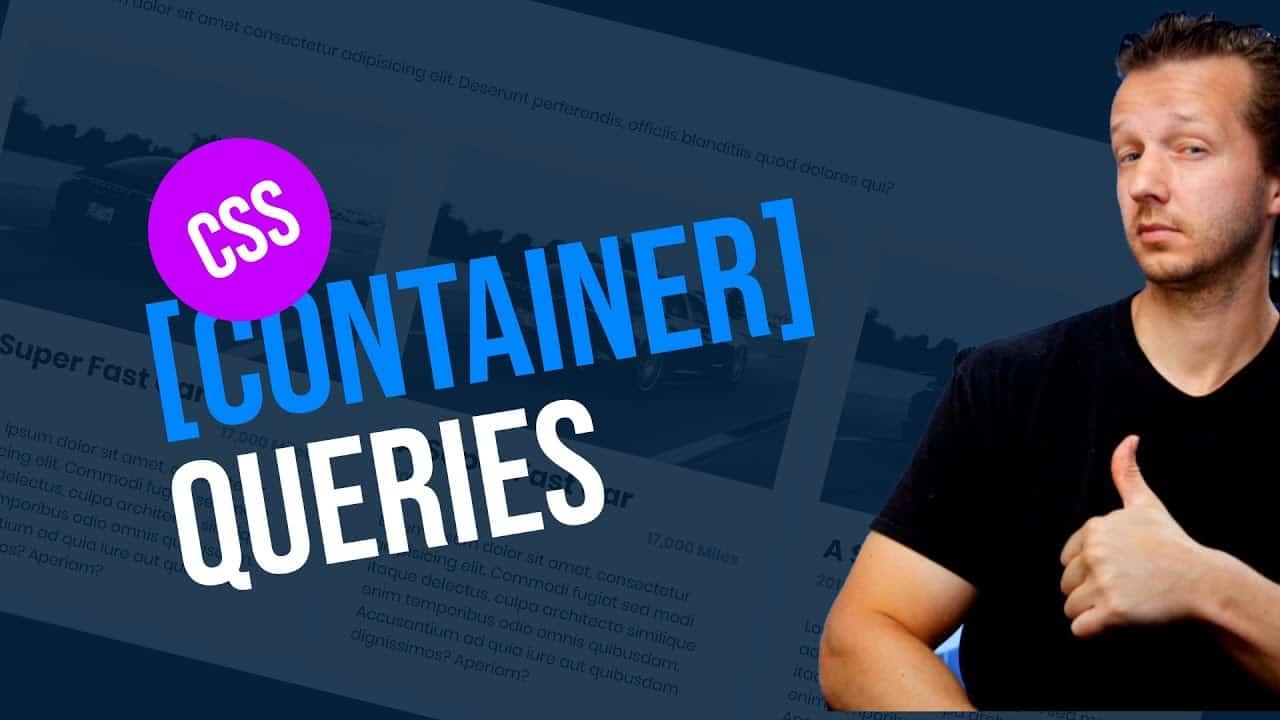 CSS Container Queries Tutorial - #FutureCSS