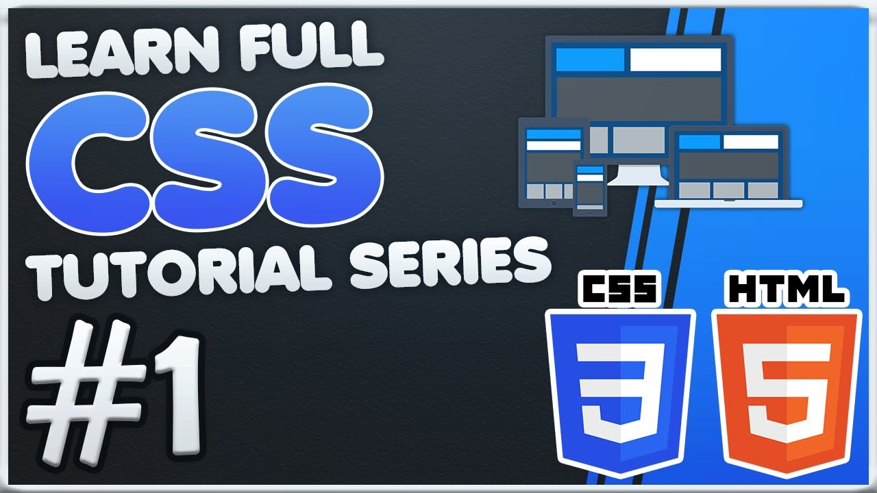 FULL CSS Beginner Tutorial Series #1 | Basics, Including CSS in HTML, First Codes