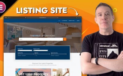 Do It Yourself – Tutorials – How to create a Real Estate Listing Website | WordPress, JetEngine and Elementor Pro
