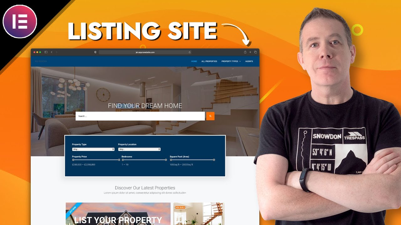 How to create a Real Estate Listing Website | WordPress, JetEngine and Elementor Pro