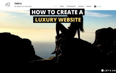 Do It Yourself – Tutorials – How to Create a Website   DIY Luxury Website Design   Entrepreneur Life UK