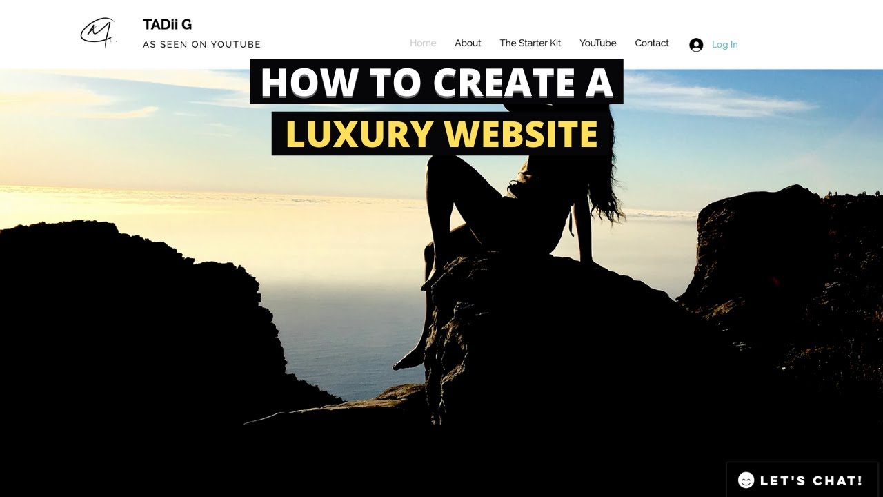 How to Create a Website | DIY Luxury Website Design | Entrepreneur Life UK