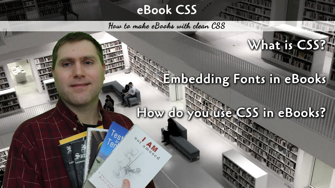 eBook CSS for Clean eBook Builds