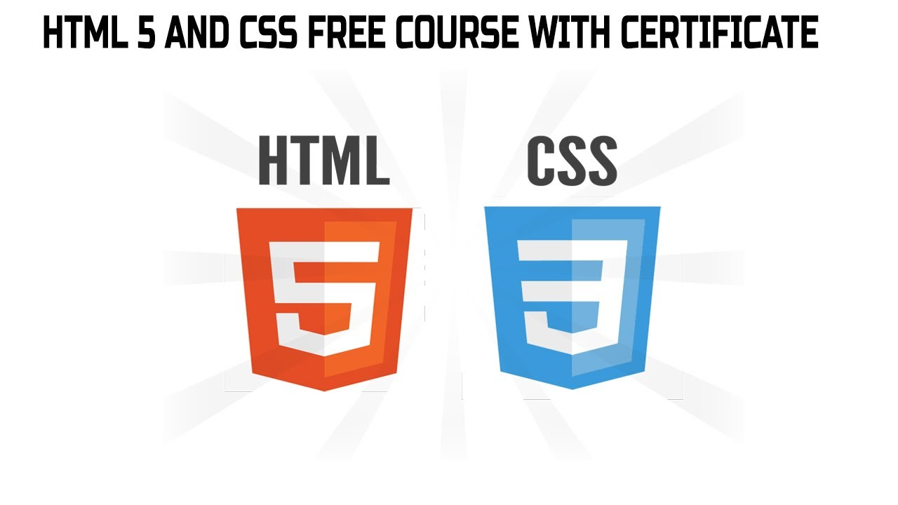 Html 5 and Css Free Course