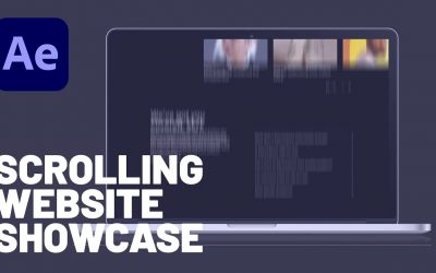 Do It Yourself – Tutorials – How to Make a Scrolling Website Showcase in Adobe After Effects