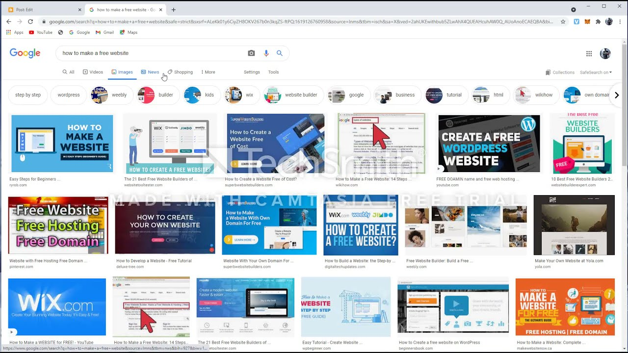 How to make a free website complete guide tutorial