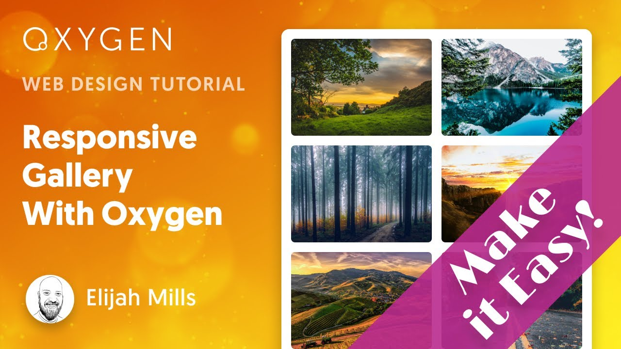 How To Easily Build A Responsive Gallery With Oxygen