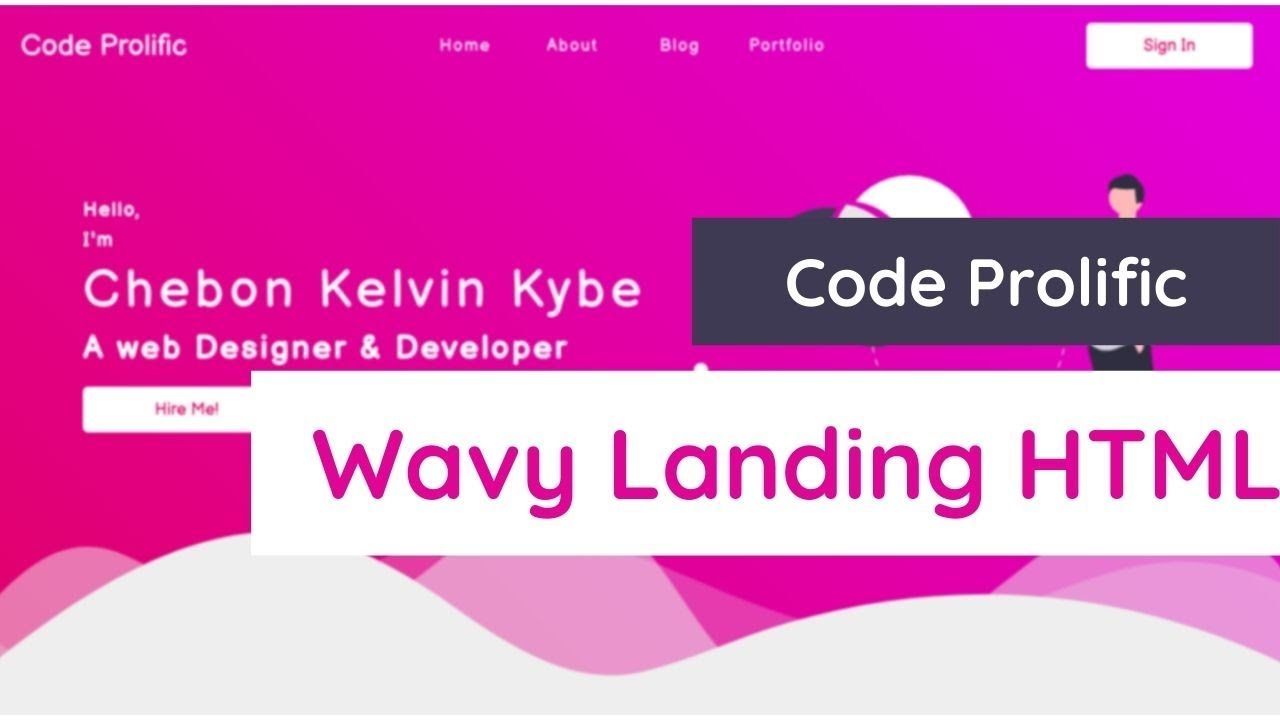 How to create WAVES HTML CSS Backgrounds: SVG backgrounds