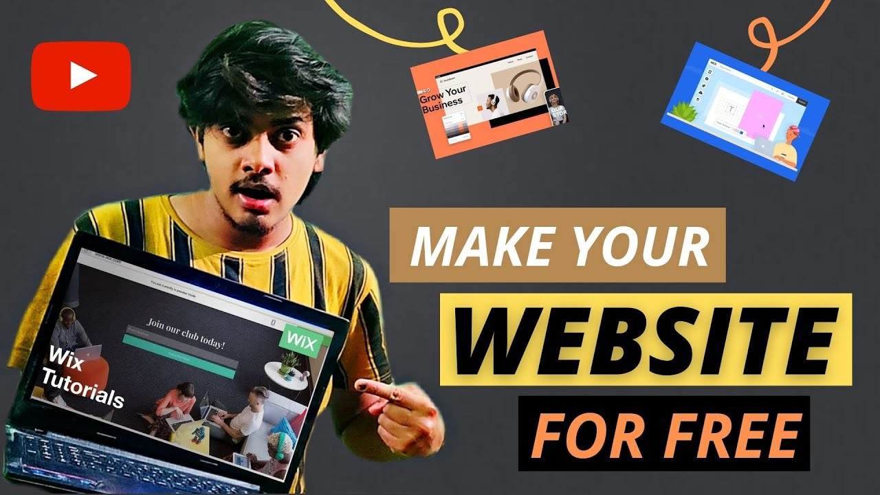 HOW TO MAKE YOUR WEBSITE FOR FREE || FOR BEGINNERS || WIX TUTORIAL